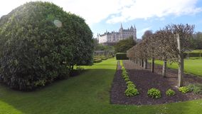 Dunrobin城堡,萨瑟兰,苏格兰 影视素材