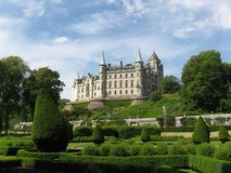 dunrobin замока Стоковая Фотография RF