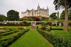 城堡dunrobin苏格兰 免版税库存图片