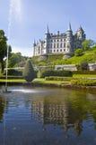 城堡dunrobin 库存照片