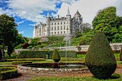 Dunrobin, Castle, Architecture Stock Photo