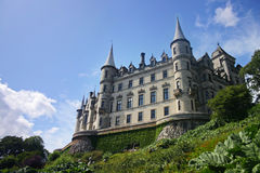 Dunrobin castle in  Scotland Royalty Free Stock Photos