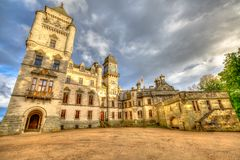 Dunrobin Castle Scotland Royalty Free Stock Photo