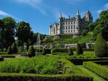 Dunrobin slott Arkivfoto