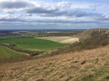 Dunstable Downs panorama, Bedfordshire Stock Photo