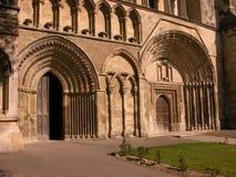 dunstable priory för dörrar Royaltyfri Bild