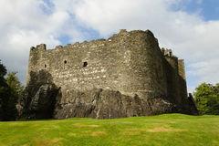 Dunstaffnage castle panorama, Scotland stock image