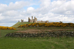Dunstanburgh Castle. Stock Photography