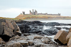 Dunstanburgh castle England Stock Photography