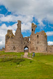 Dunstanburgh Castle, England Stock Photos