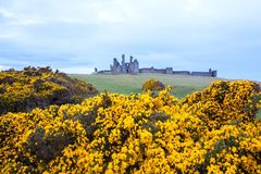 Dunstanburgh castle England Royalty Free Stock Image