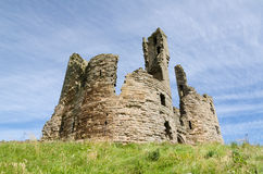 Dunstanburgh Castle gate house Royalty Free Stock Photos