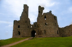 Dunstanburgh Castle Gate stock photos
