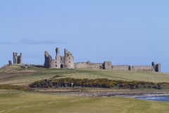 Dunstanburgh Castle, Northumbria, UK Stock Image