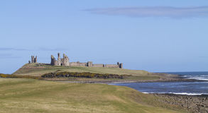 Dunstanburgh Castle, Northumbria, UK Stock Images