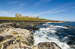 Dunstanburgh Castle from south Royalty Free Stock Photography