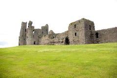 Dunstanburgh Castle Southern View. Stock Photos