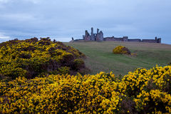 Dunstanburgh castle UK Stock Photos