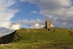 Dunstanburghkasteel Stock Afbeeldingen