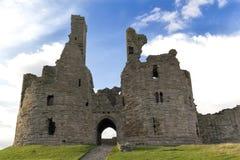 Dunstanburghkasteel Royalty-vrije Stock Foto