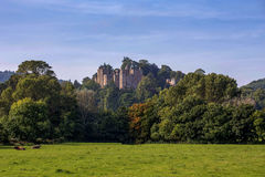 Dunster Castle σε Somerset Αγγλία στοκ εικόνες με δικαίωμα ελεύθερης χρήσης
