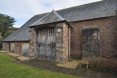 Dunster Tithe Barn Royalty Free Stock Image