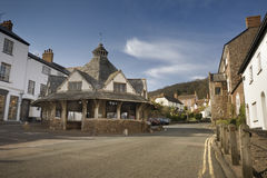 Dunster Yarn Market Royalty Free Stock Photography