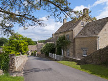 Duntisbourne Abbotts, idyllic Cotswold village, Gloucestershire, UK Royalty Free Stock Photos