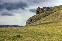 Duntulm城堡废墟  免版税库存照片