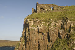 Duntulm Castle, Skye Royalty Free Stock Photography