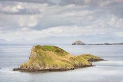 Duntulm Island off the Isle of Skye. Royalty Free Stock Photography