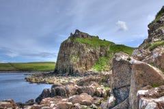 Duntulm-Schloss, Insel von Skye Scotland lizenzfreies stockbild