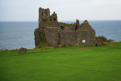 Dunure castle. In Kennedy Park Scotland Royalty Free Stock Photos