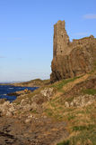 Dunure Castle, Dunure, Ayrshire, Scotland. Royalty Free Stock Images
