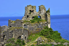 Dunure Castle Royalty Free Stock Image