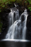 Dunvagan castle waterfall. Waterfall near Dunvagan castle on the Isle of Skye royalty free stock images