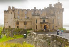 Dunvegan castle scotland royalty free stock photography