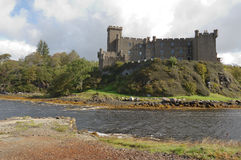 Dunvegan Castle. And harbour on the Island of Skye, Scotland Stock Photography