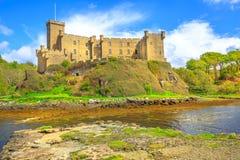 Dunvegan Castle landscape Royalty Free Stock Image