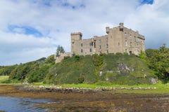Dunvegan Castle LT WB Royalty Free Stock Photos