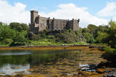 Dunvegan Castle. Over the loch Royalty Free Stock Images