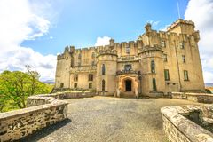 Dunvegan Castle in Skye Royalty Free Stock Photography