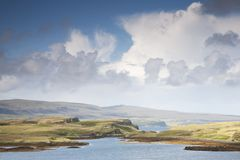 Dunvegan, Isle of Skye, Scotland Stock Photos
