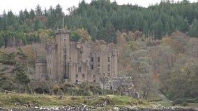 Dunvegan kasztel na wyspie Skye - siedzenie MacLeod MacLeod, Szkocja, UK zbiory