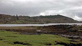 Dunvegan kasztel na wyspie Skye - siedzenie MacLeod MacLeod, Szkocja, UK zbiory wideo