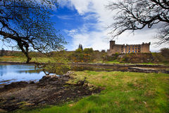 Dunvegan kasztel, wyspa Skye Zdjęcia Royalty Free