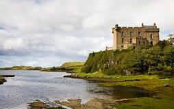 Dunvegan Schloss, Schottland Stockbild