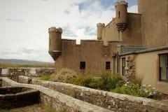 Dunvegan slott, ö av Skye, Skottland Arkivfoton