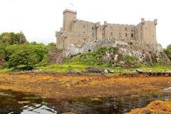 Dunvegan slott, ö av Skye, Skottland Arkivbild