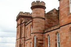 Dunvegan slott, ö av Skye, Skottland Royaltyfria Bilder